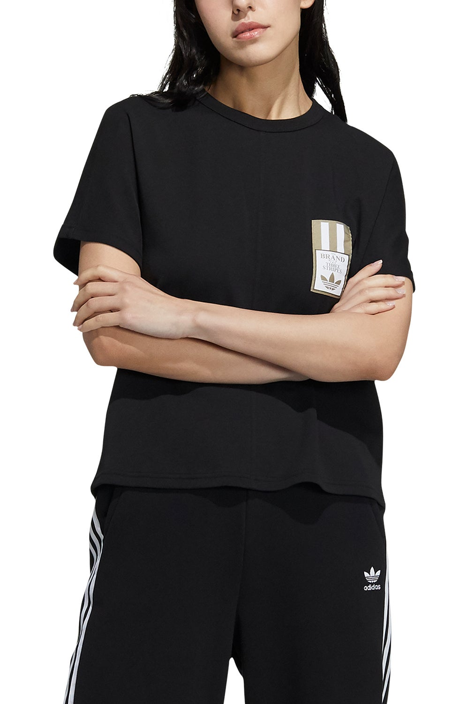 adidas Adibreak Tee Black/White