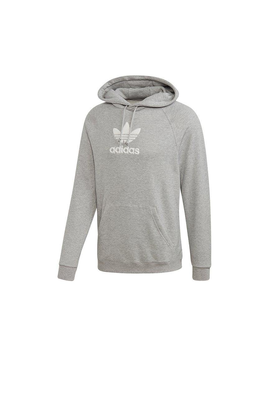 adidas Premium Hoodie Medium Grey Heather