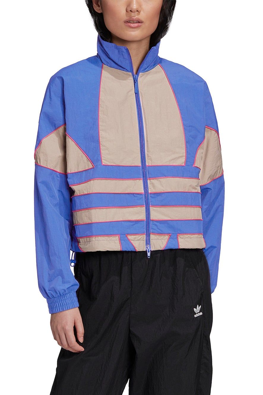 adidas Adicolor Large Logo Track Top Royal Blue