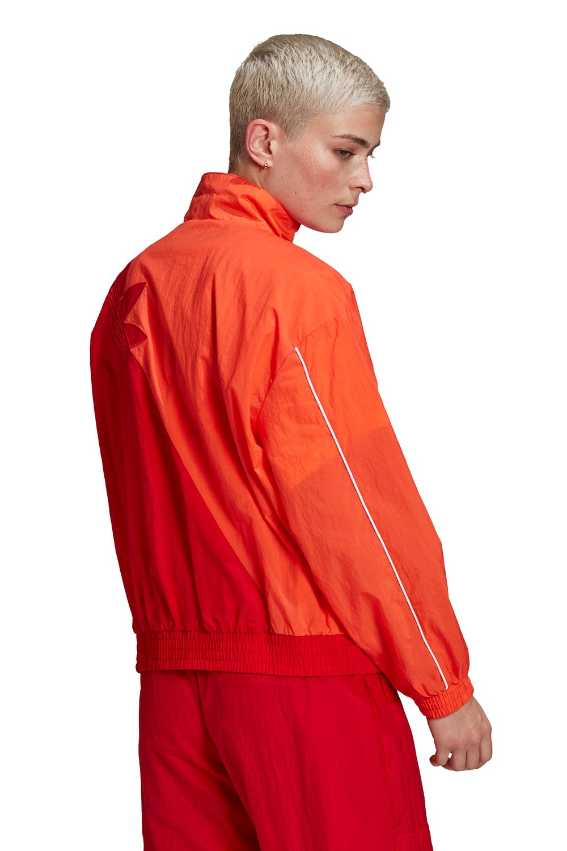 adidas Adicolor Sliced Trefoil Track Top Semi Solar Red/Scarlet