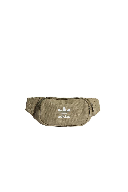 adidas Adicolor Waist Bag Orbit Green/Focus Olive/White