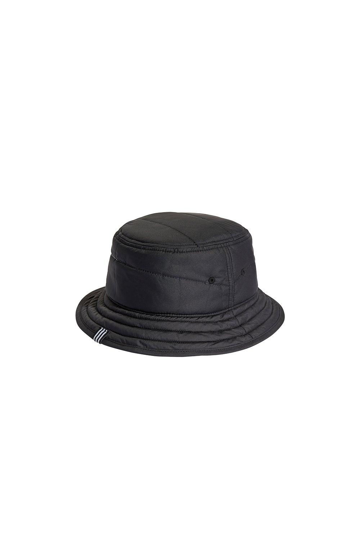 adidas Adicolor Winterized Classic Trefoil Bucket Hat Black