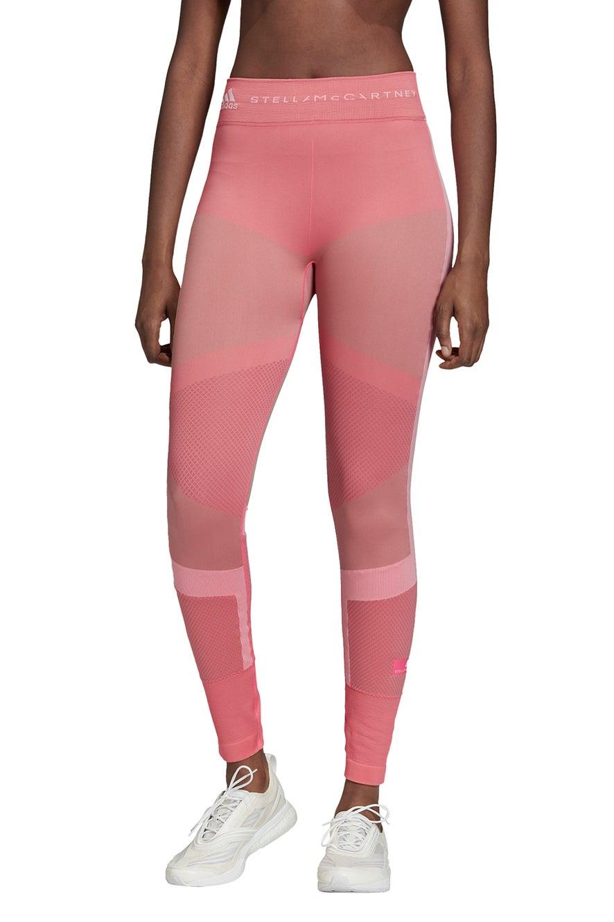 adidas by Stella McCartney Run Knit Tights Pink