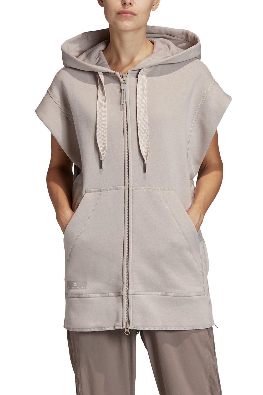 adidas by Stella McCartney Sleeveless Hood Light Brown