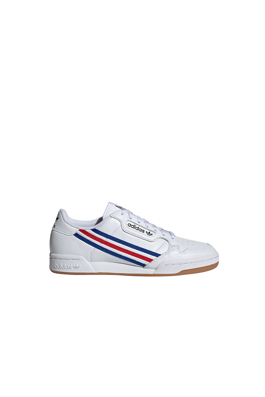 adidas Continental 80 Cloud White/Royal Blue/Vivid Red