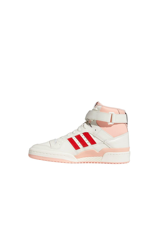 adidas Forum 84 Hi White/Glow Pink/Vivid Red