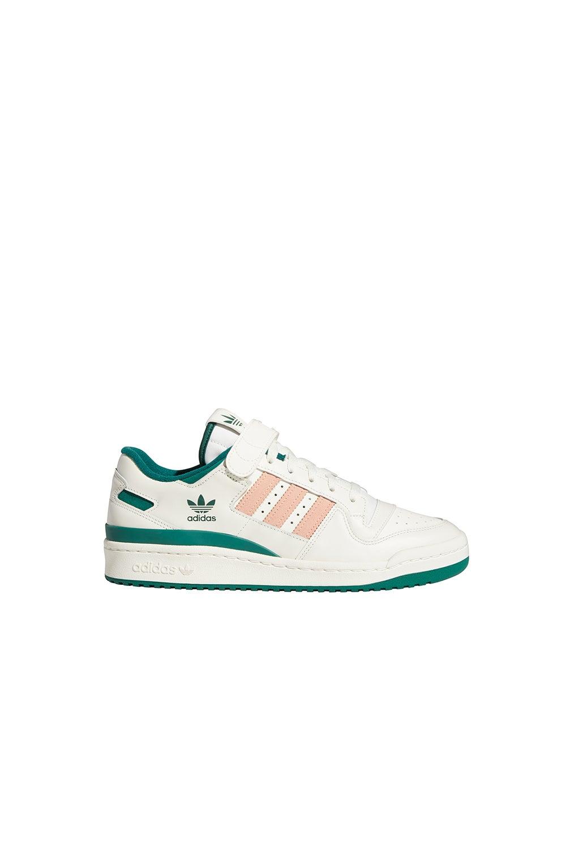 adidas Forum Low White/Collegiate Green/Glow Pink