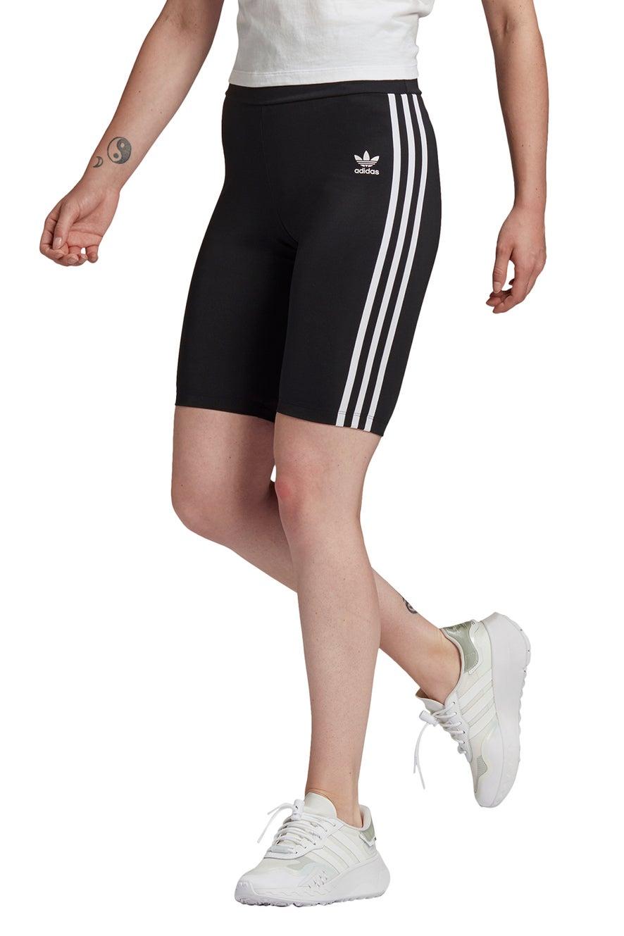 adidas High-Waisted Short Tights Black