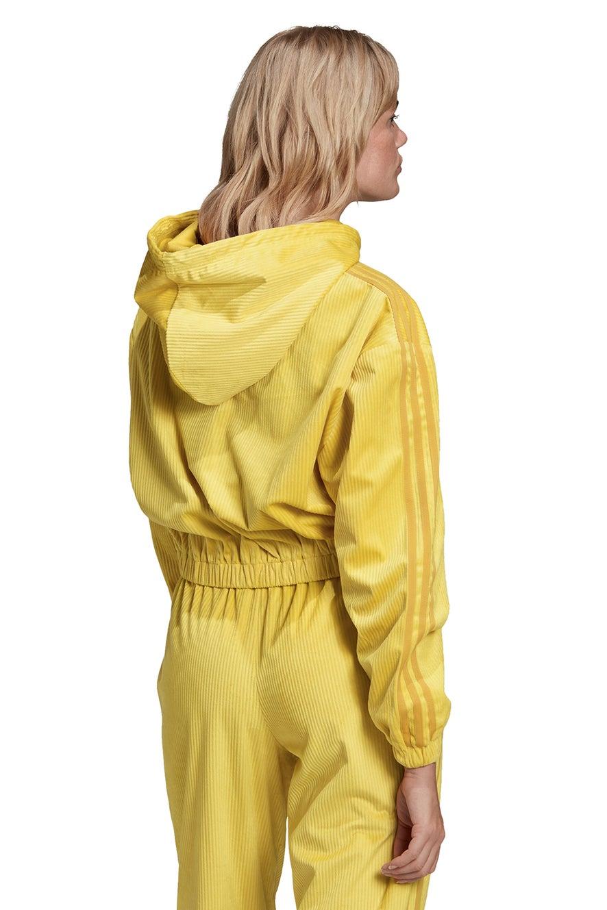 adidas Hooded Track Top Corn Yellow