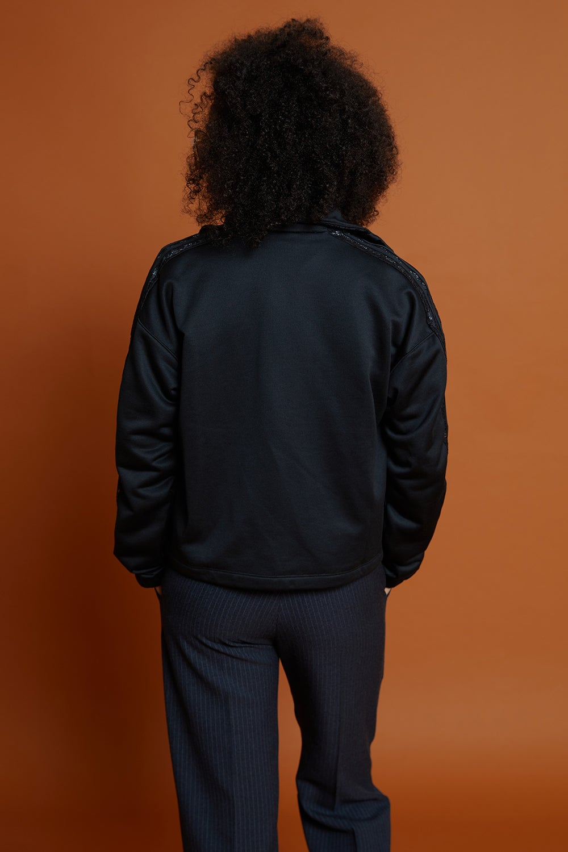 adidas Lace Tracktop Black