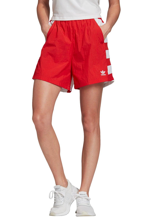adidas Large Logo Short Lush Red/White