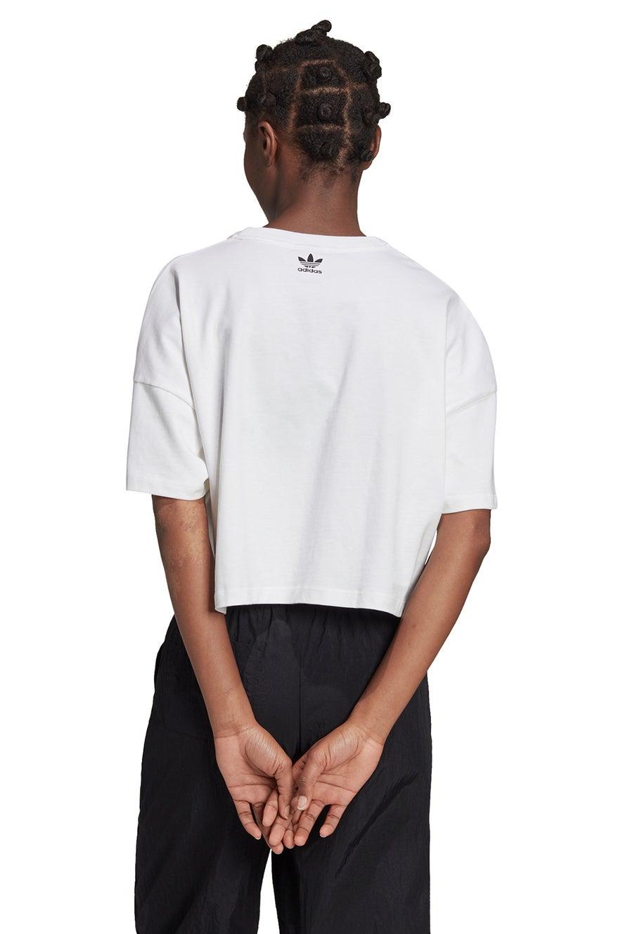 adidas Large Logo Tee White