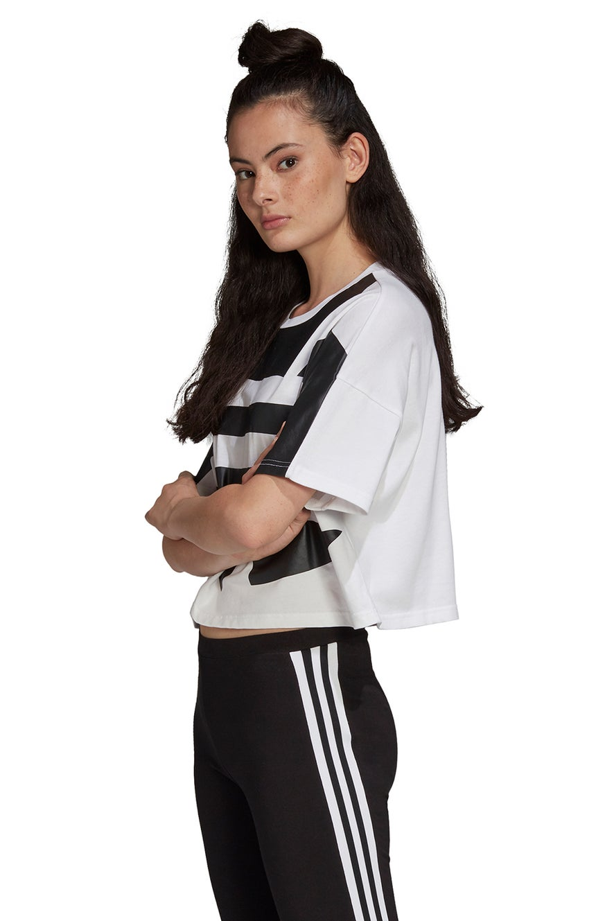 adidas Large Logo Tee White/Black