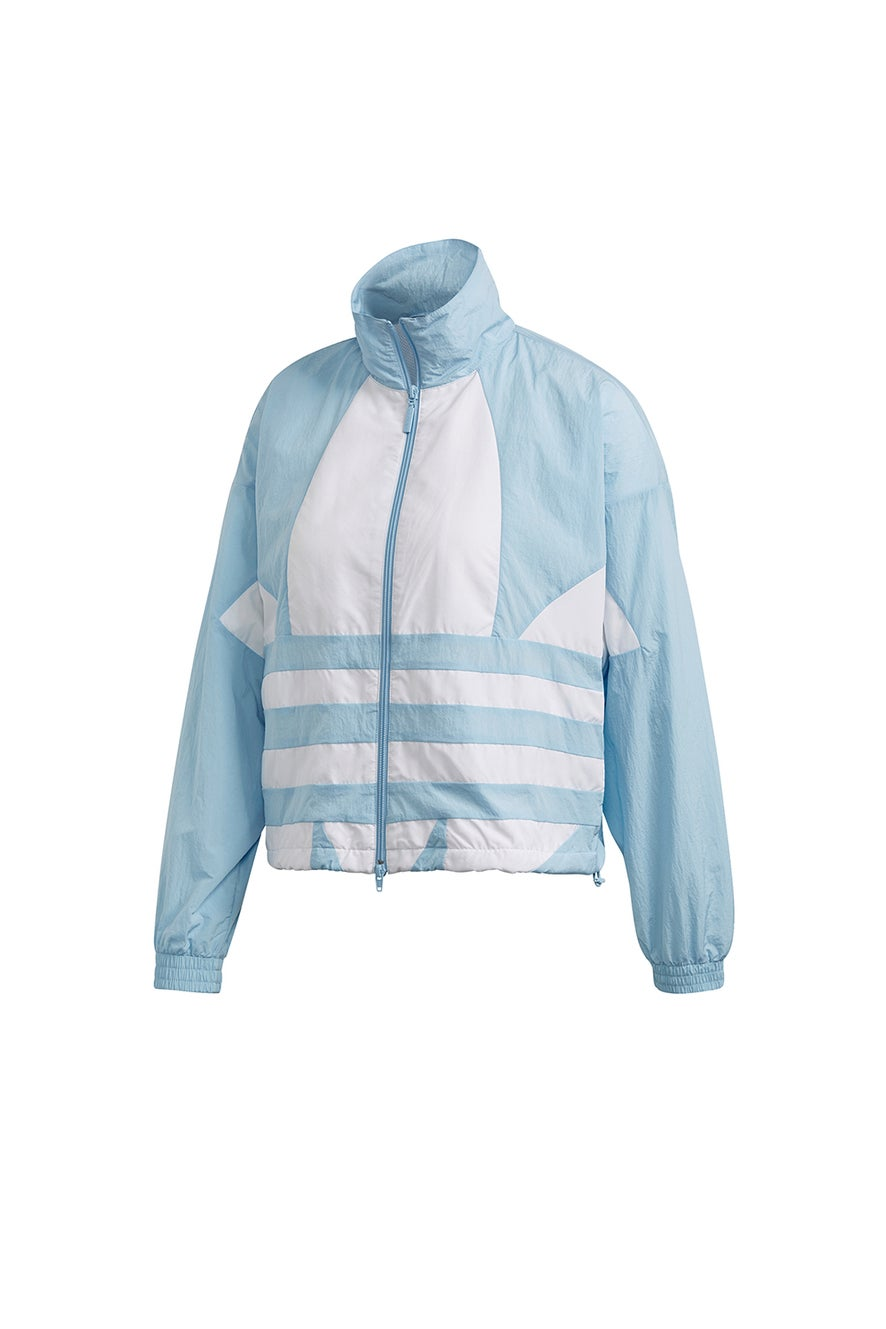 adidas Large Logo Tracktop Clear Sky/White