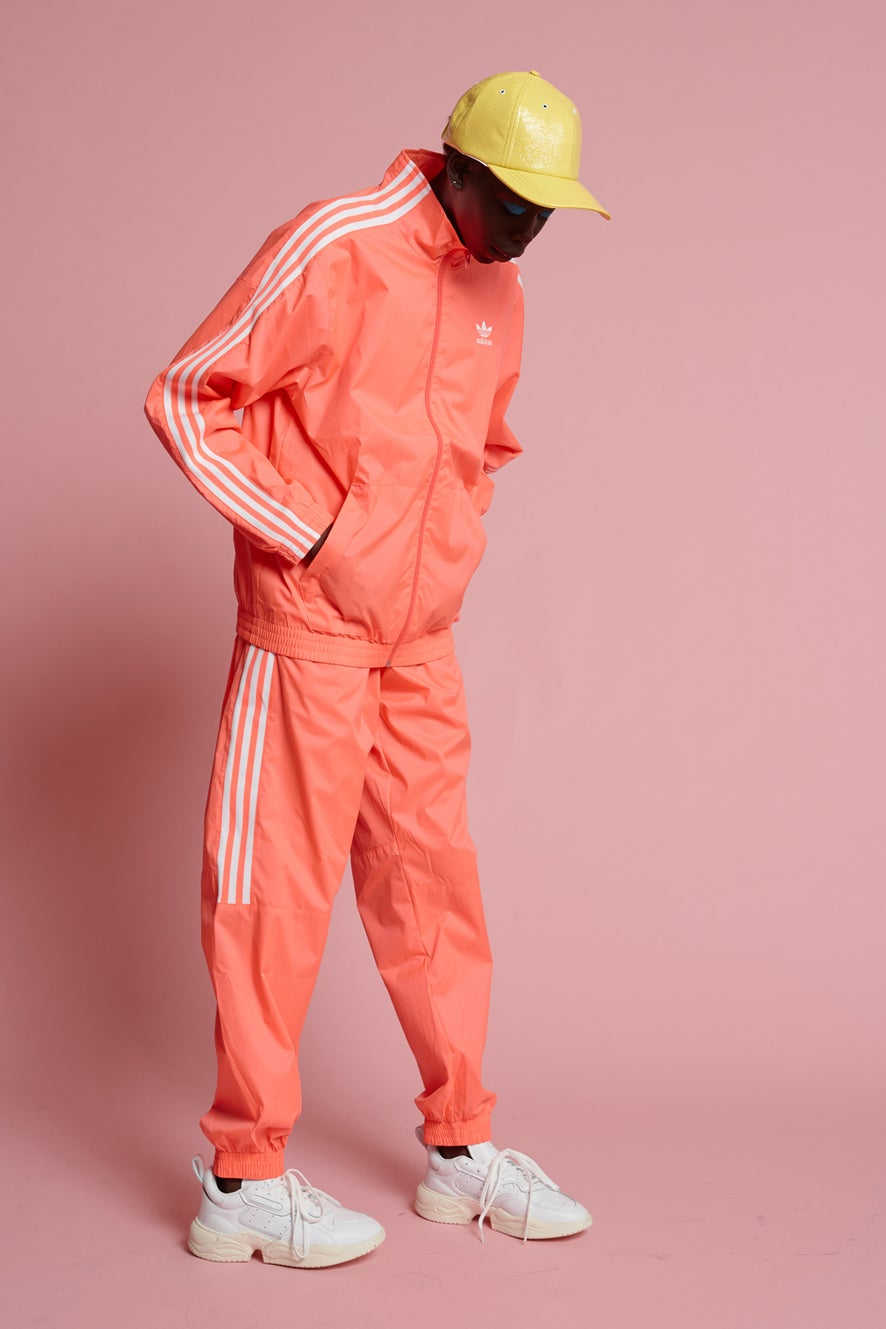 adidas Lock Up Track Pants Flash Red