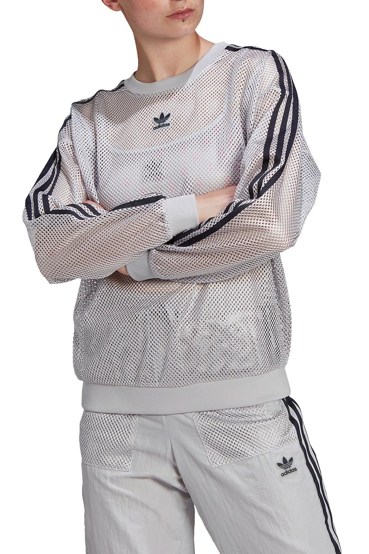 adidas Mesh Crew Light Solid Grey