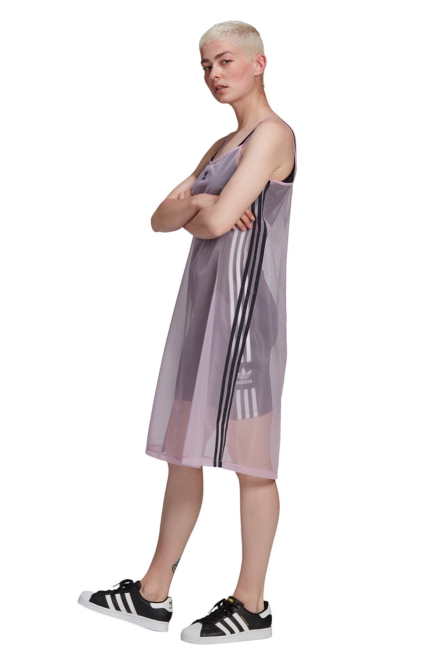 adidas Mesh Dress Magic Berry