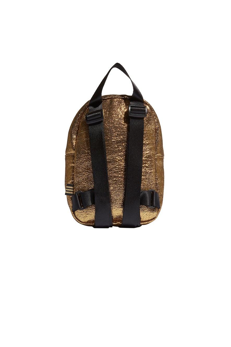 adidas Mini Backpack Gold Metallic/Black
