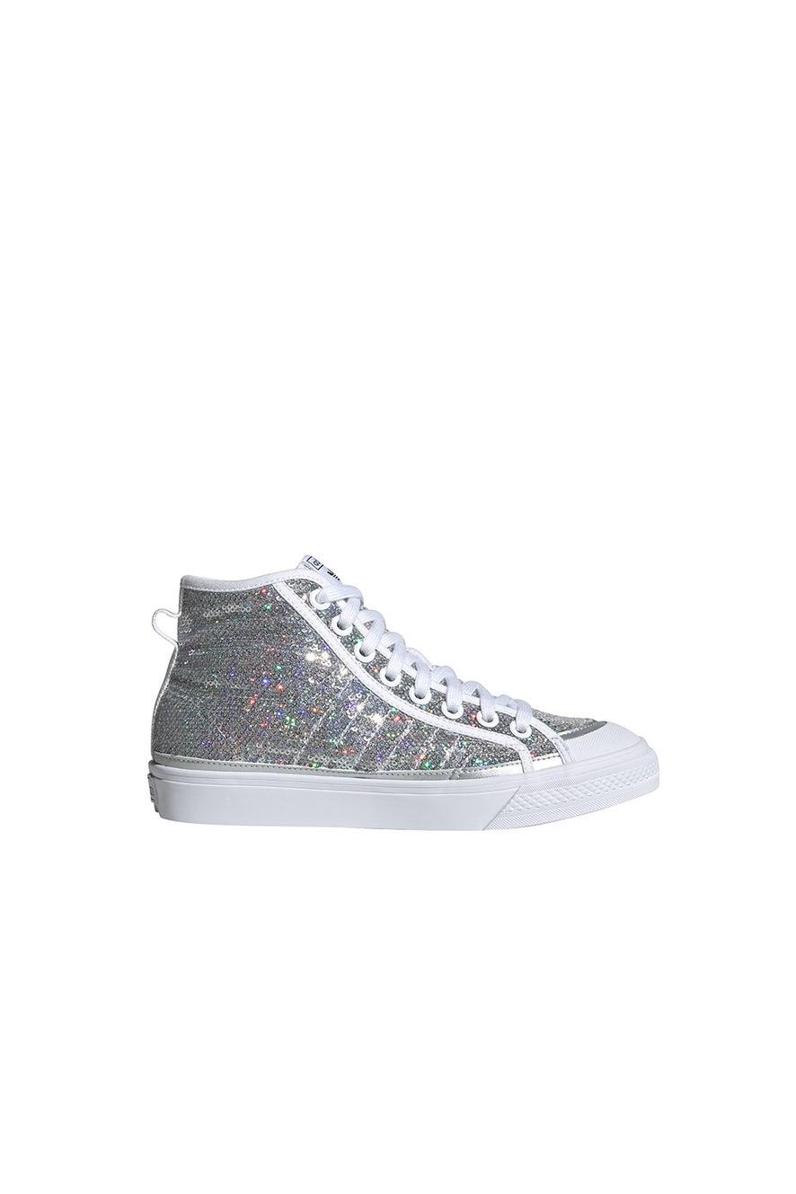 adidas Nizza High W Silver/White/Black