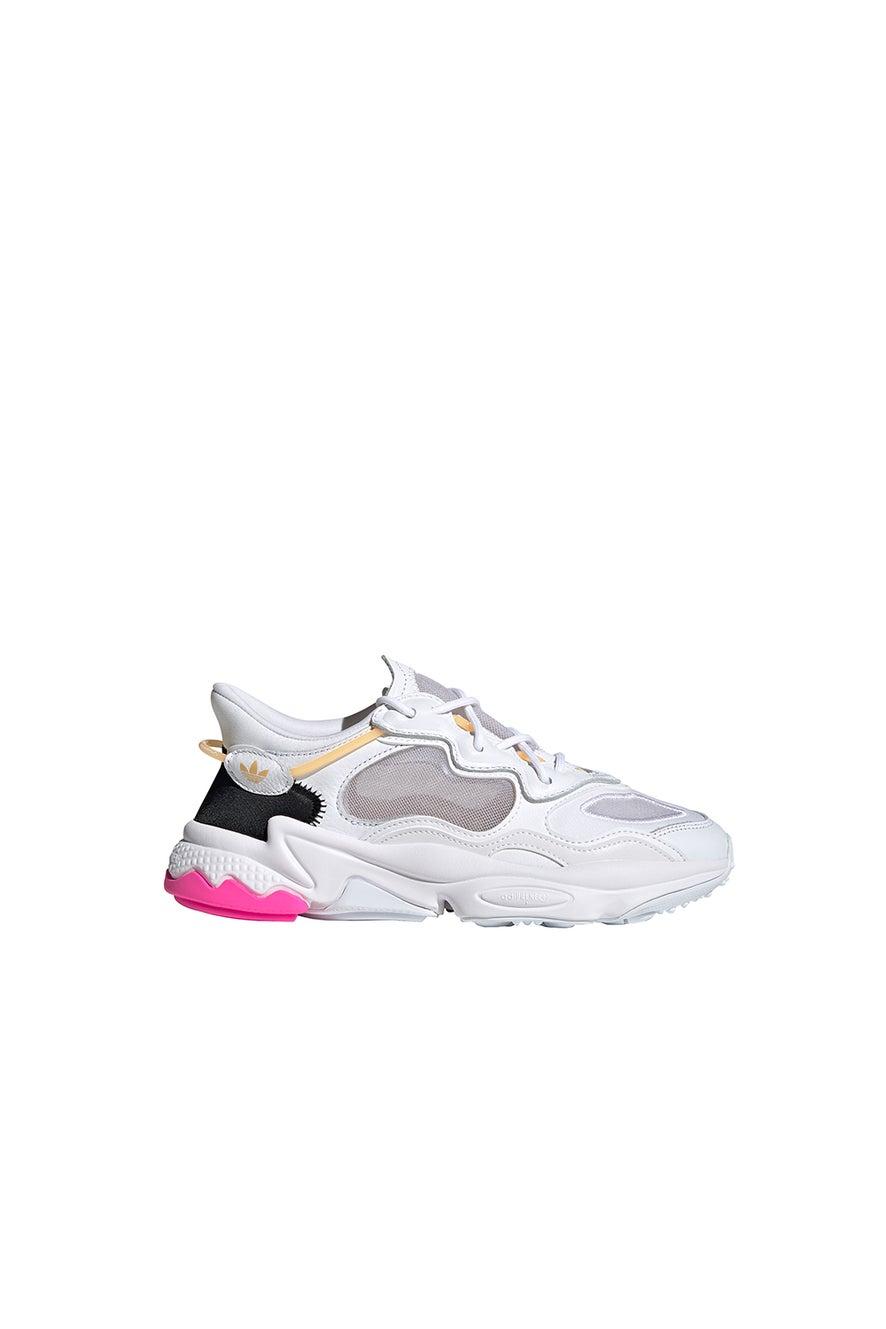 adidas Ozweego Lite Shoes FTWR White/Hazy Orange