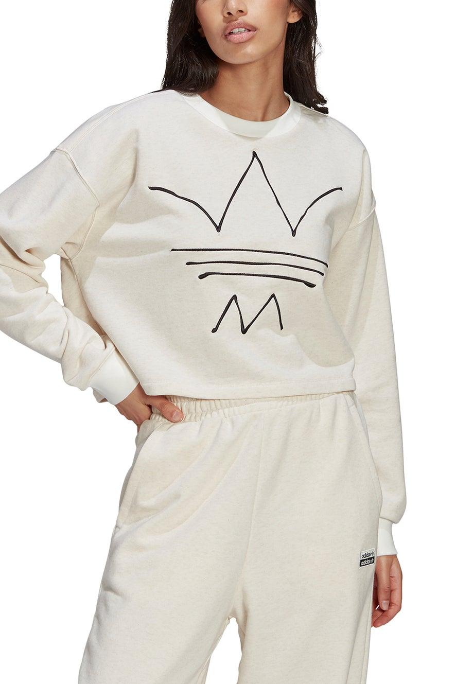 adidas RYV Sweatshirt Off White