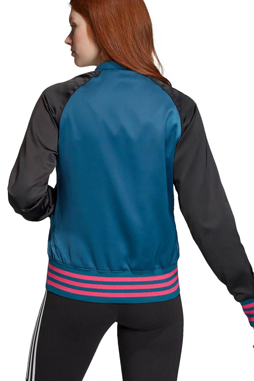 adidas Satin Bomber Track Jacket