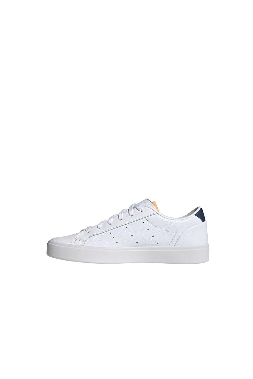 adidas Sleek W Cloud White/Crew Navy/Screaming Pink