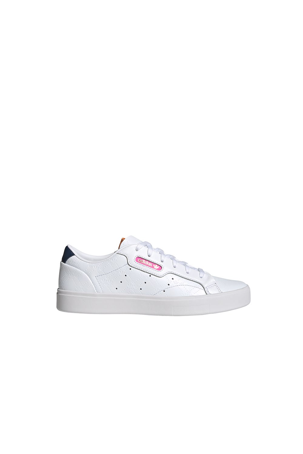 adidas Sleek W Cloud White/Crew Navy/Screaming Pink