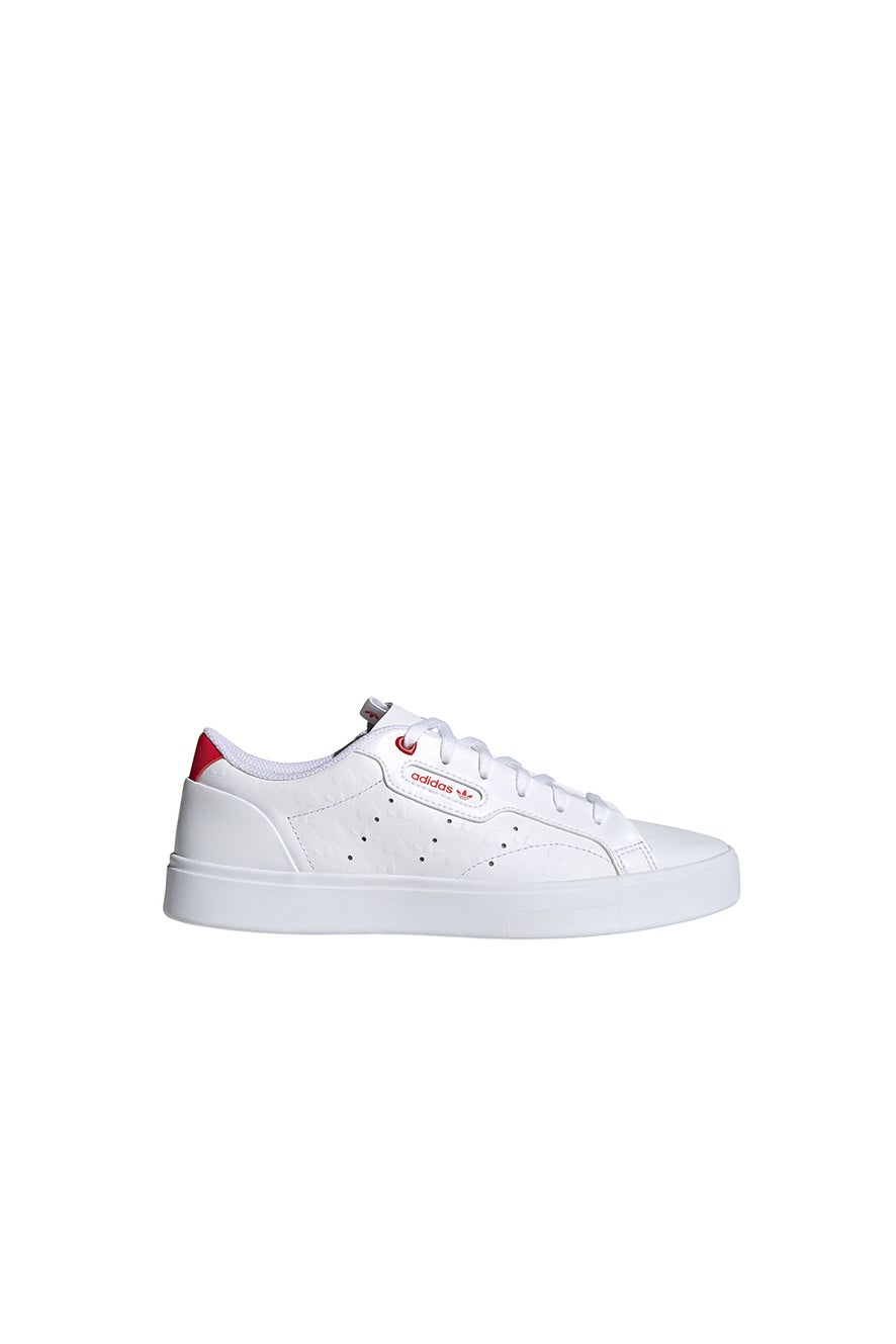 adidas Sleek W FTWR White/Scarlet/Black