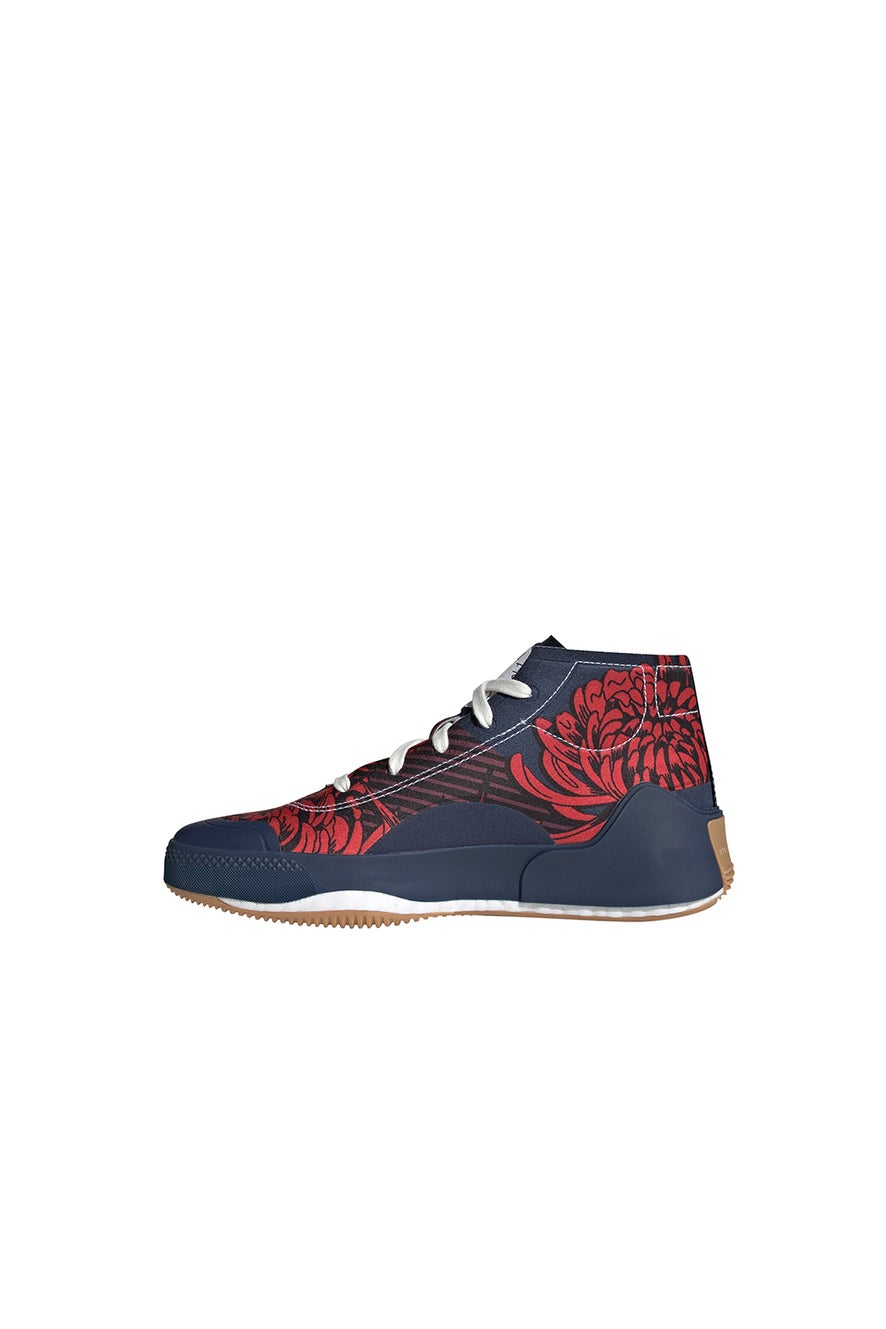 adidas Stella McCartney Treino Mid-Cut Print Shoes Navy/Red