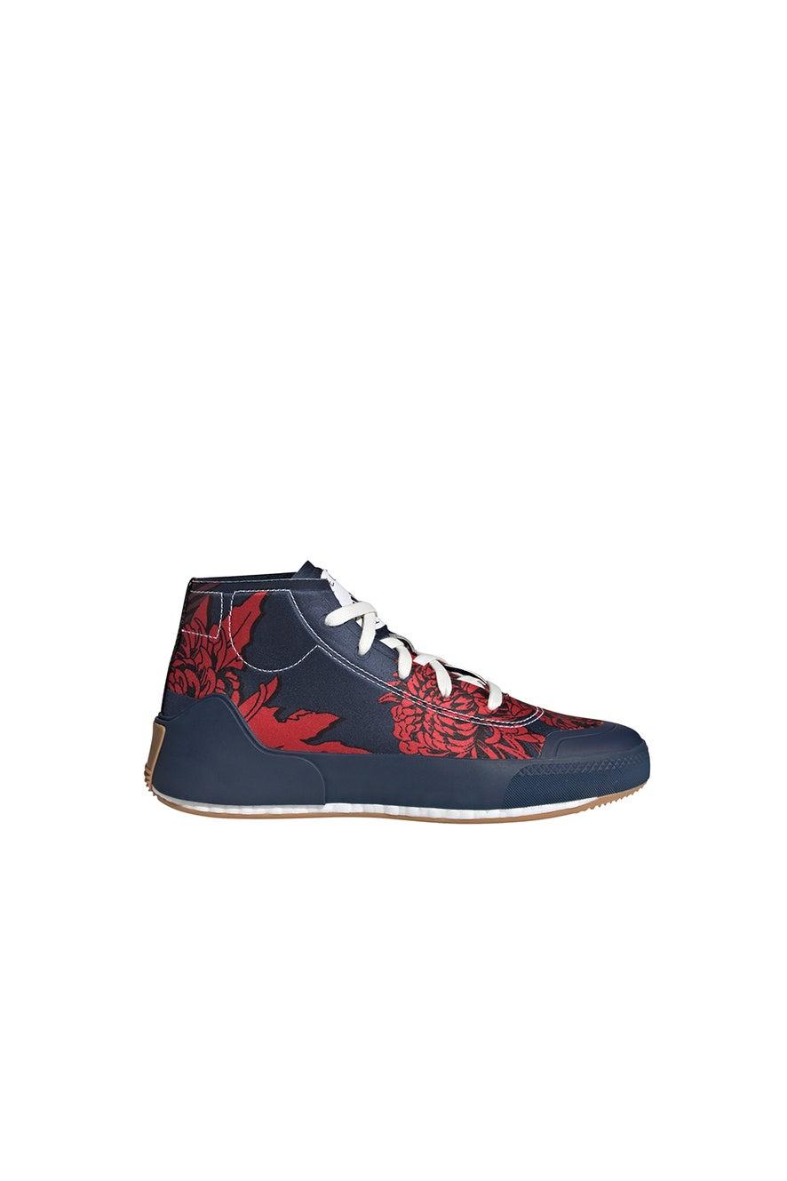 adidas Stella McCartney Treino Mid-Cut Print Shoes Navy/Red