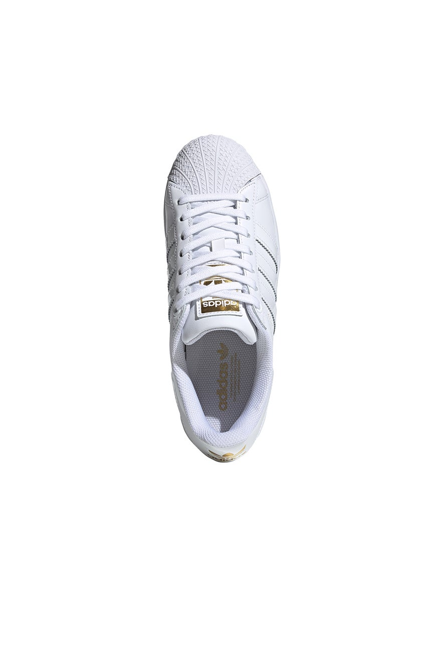 adidas Superstar Bold W White/Gold