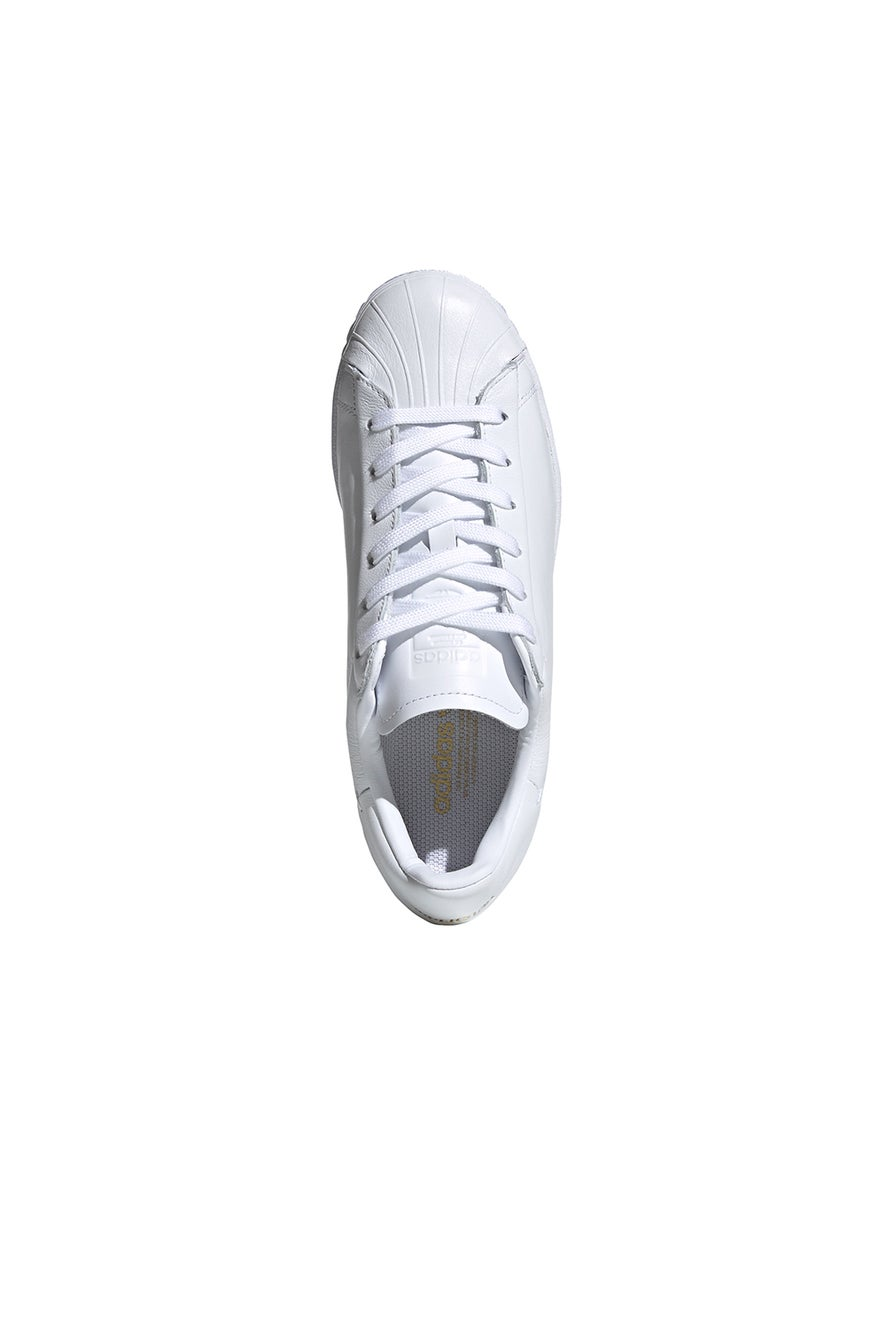 adidas Superstar Pure Low Trainer FTWR White/Core Black/Gold Metal