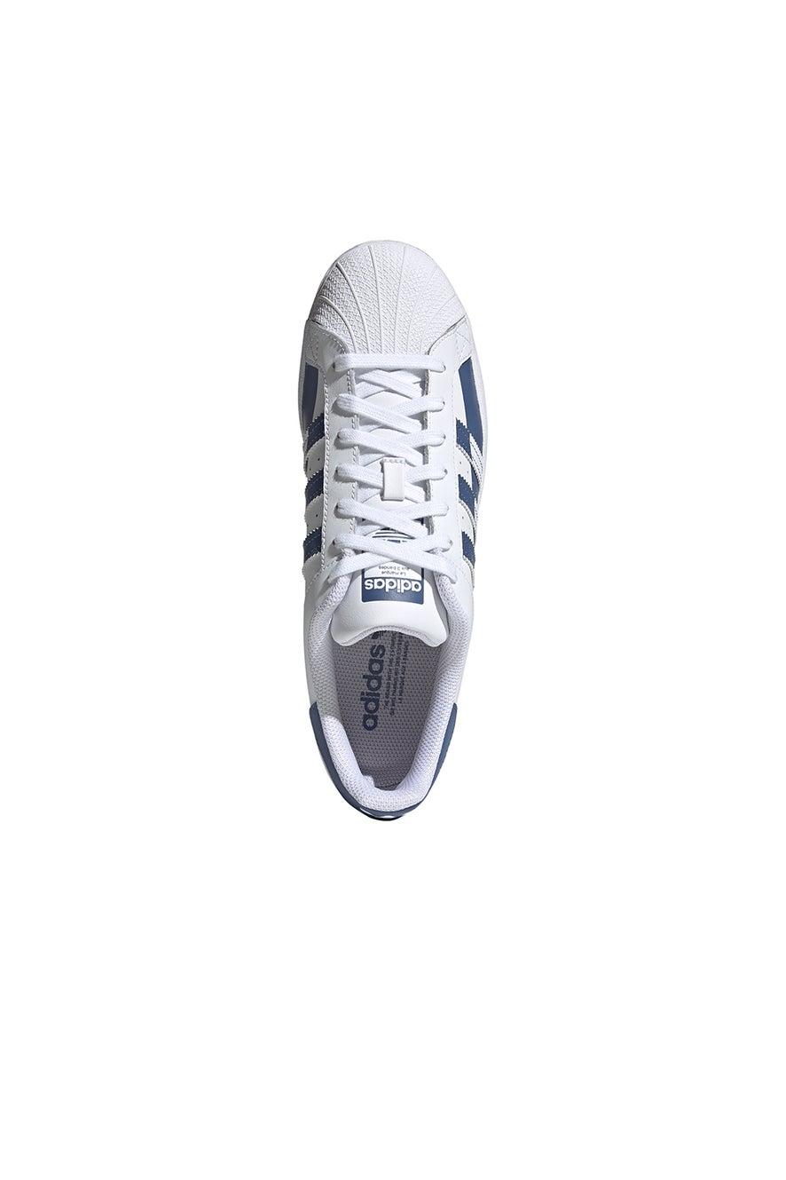 adidas Superstar White/Blue