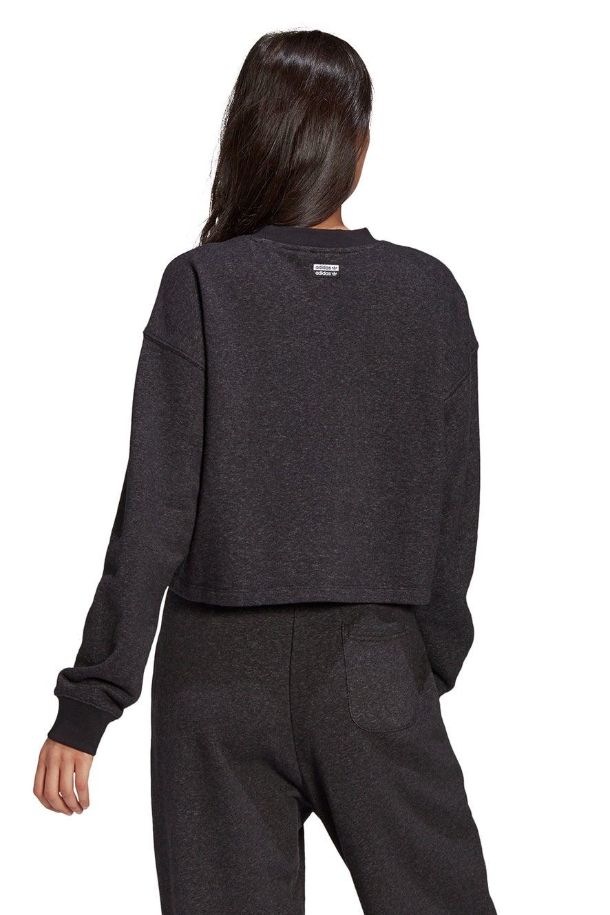 adidas Sweatshirt Black Melange