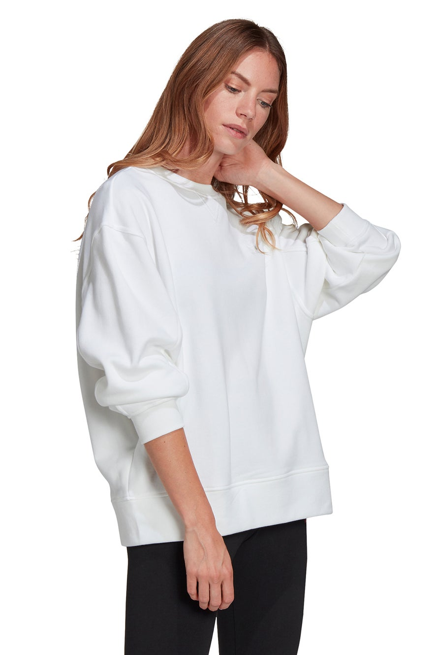 adidas Sweatshirt White