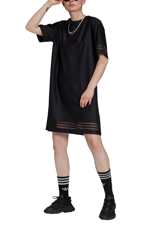 adidas Tee Dress Black
