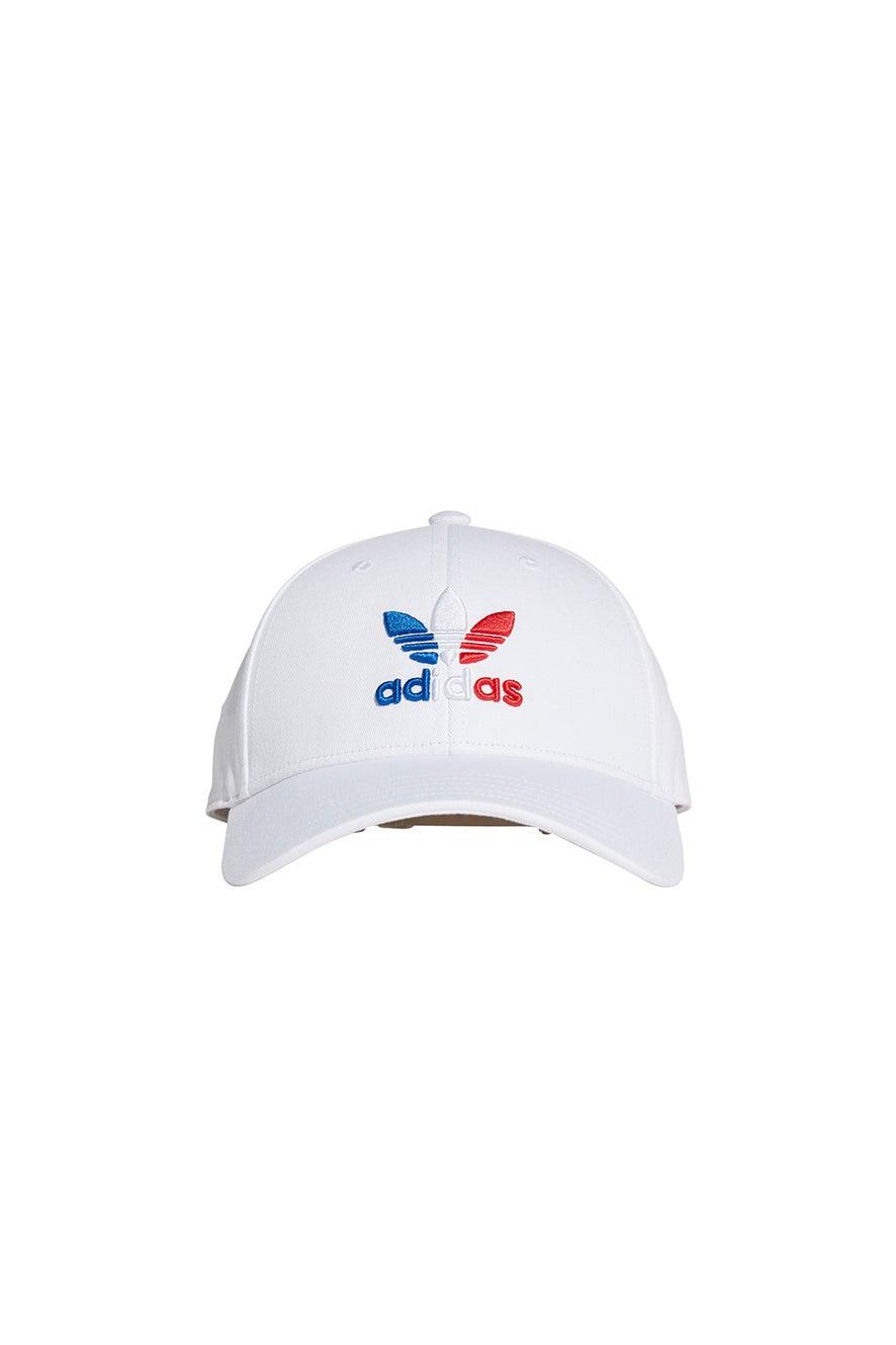 adidas Trefoil Baseball Cap White/Royal Blue