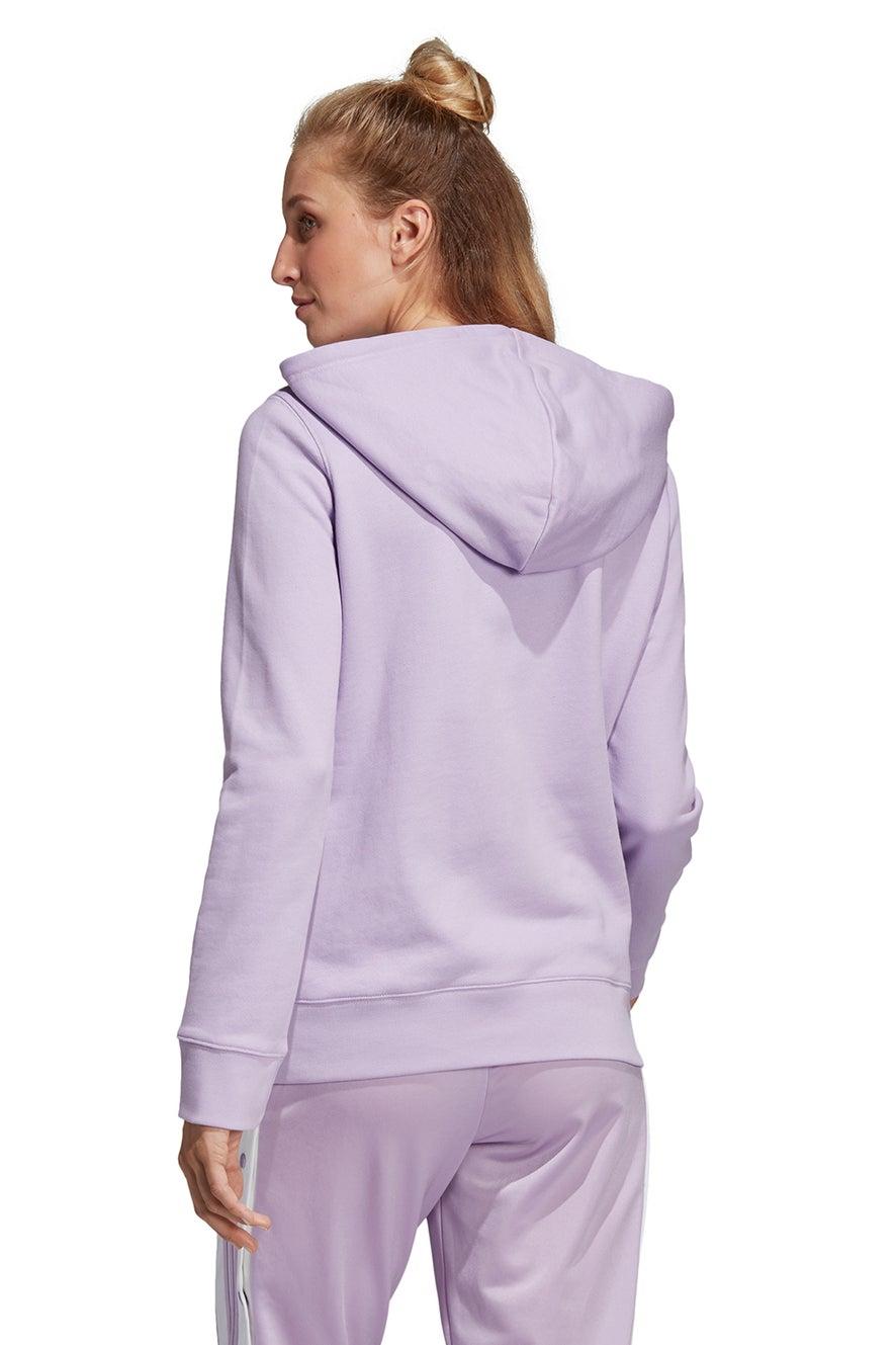 adidas Trefoil Hoodie Purple Glow