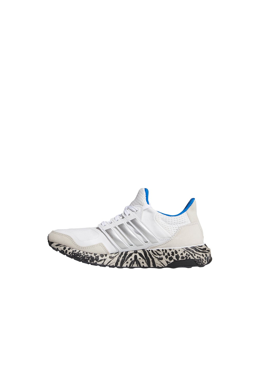 adidas Ultraboost DNA Cloud White/Silver Metallic/Glow Blue