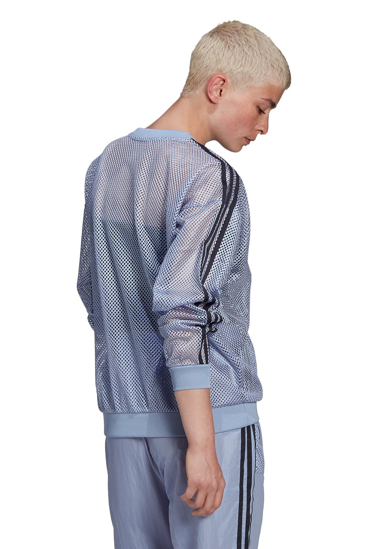adidas Mesh Crew Chalk Blue