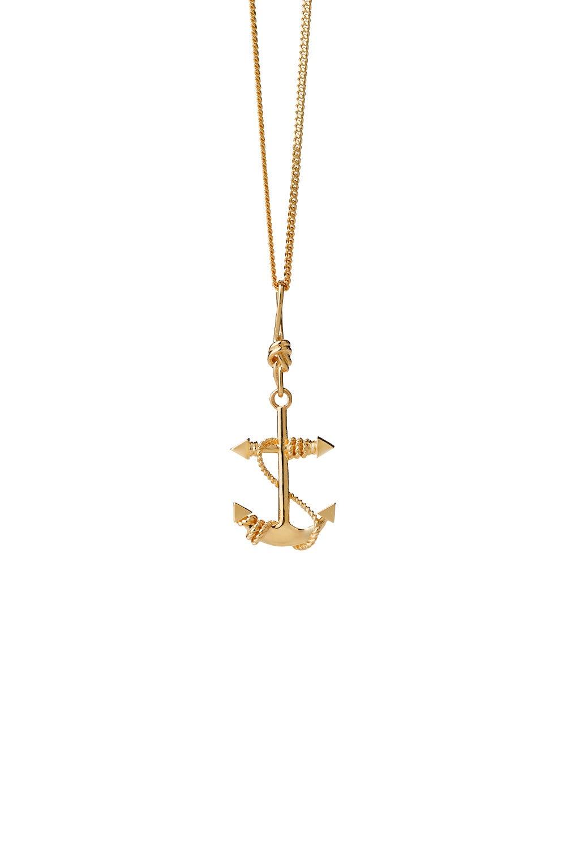 Anchor Necklace Gold
