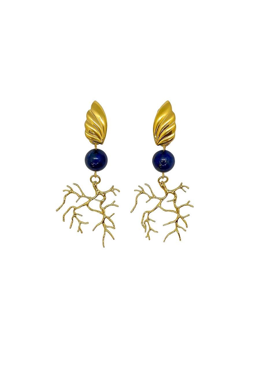 Anoushka Van Rijn Blauw Earrings
