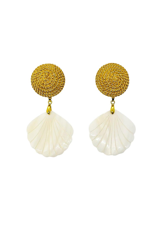 Anoushka Van Rijn Chain Earrings