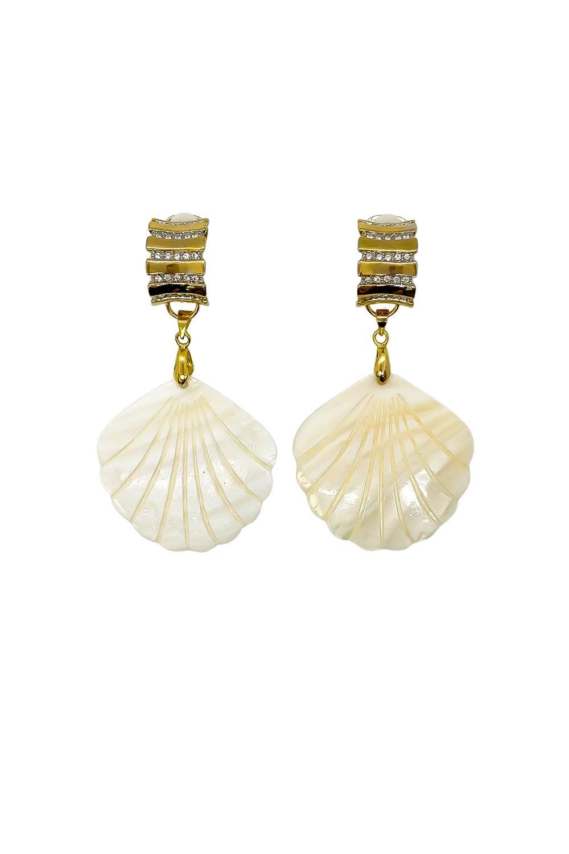 Anoushka Van Rijn Crystal Love Earrings