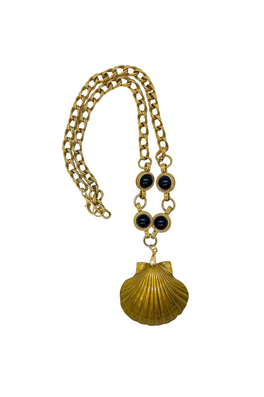 Anoushka Van Rijn Golden Shell Necklace