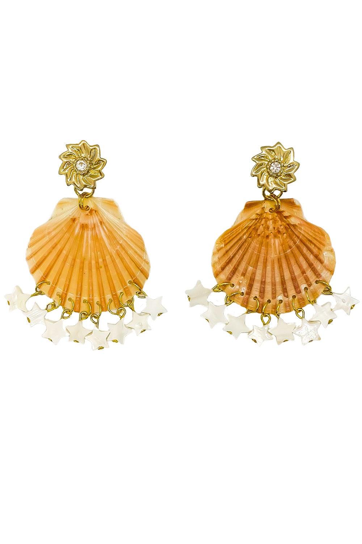 Anoushka Van Rijn Sea Star Earrings