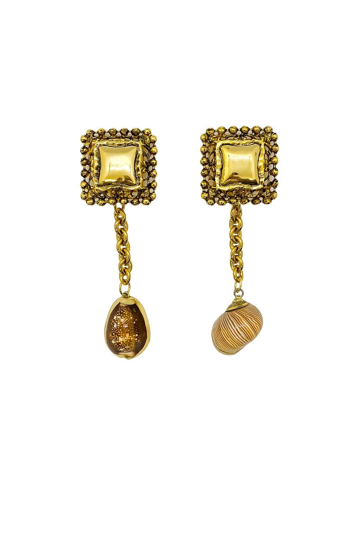 Anoushka Van Rijn Seas Earth Earrings