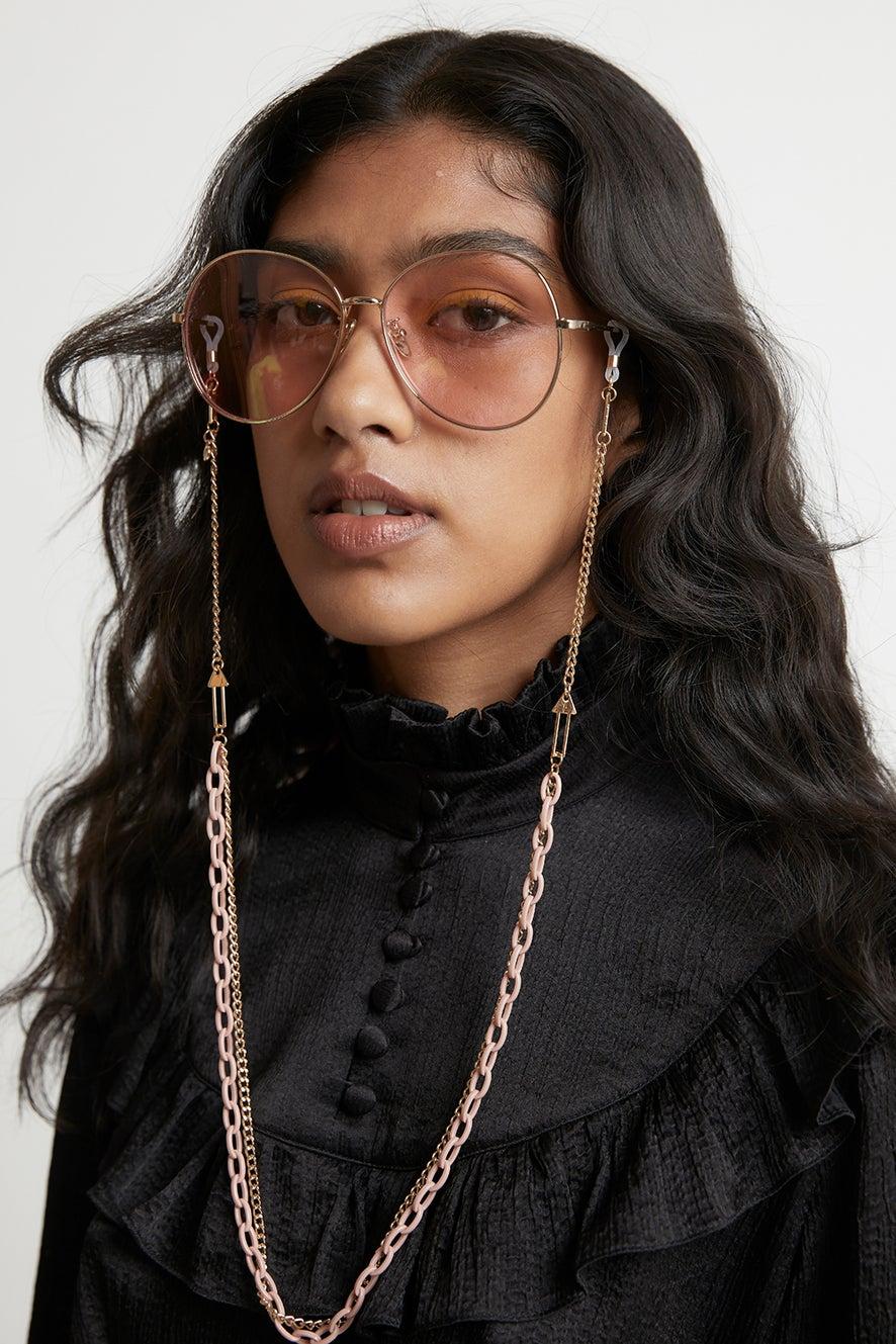 Arrow Combo Eyewear Chain Putty Gold