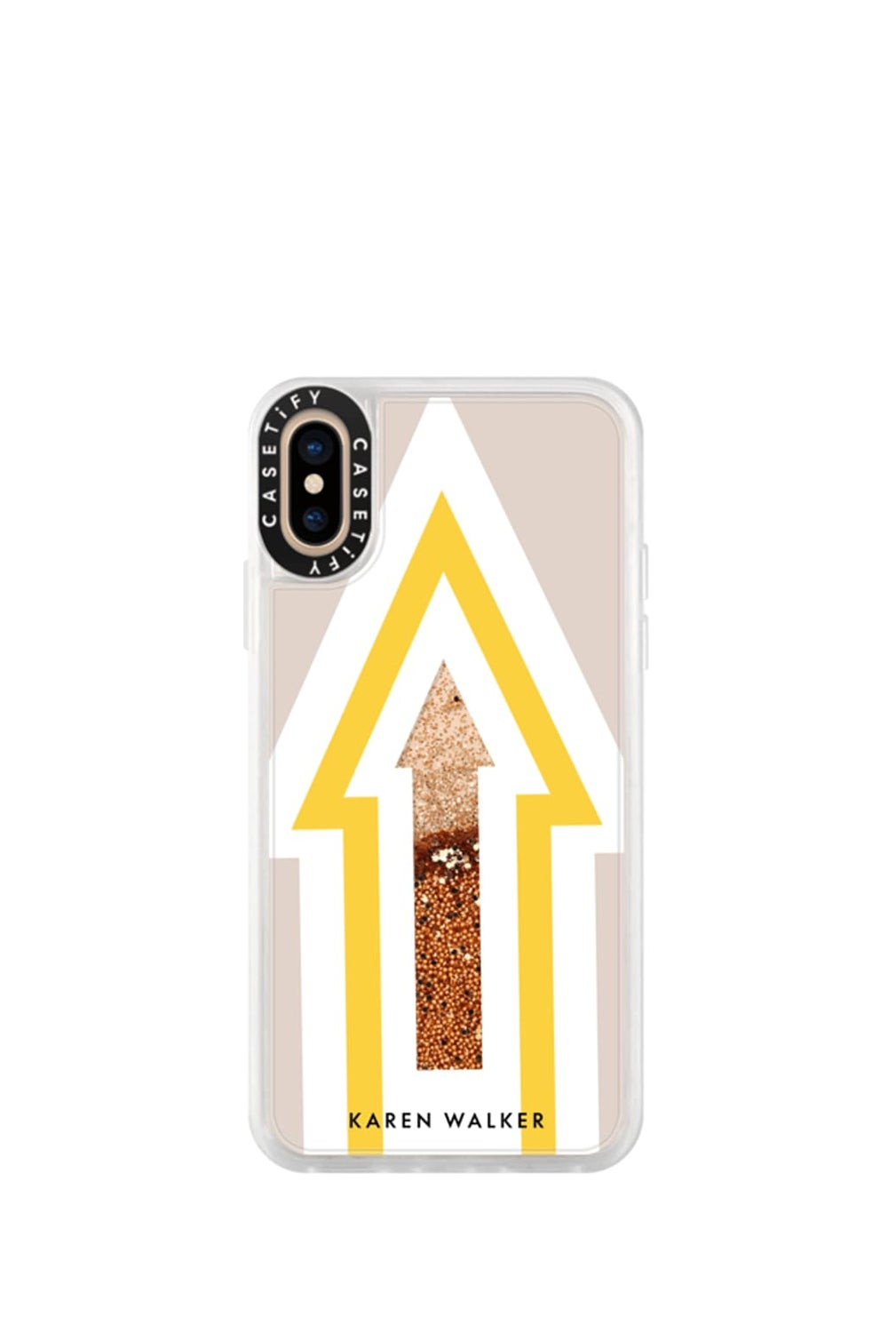 Arrow iPhone Case Yellow